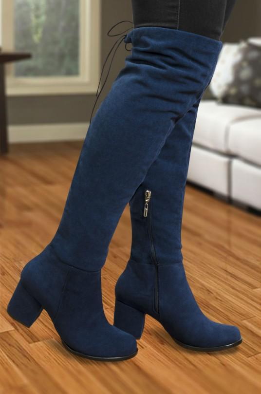 Botas Barbara Azul